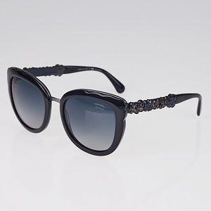 Chanel sunglasses polarized blue bijou 5356 A